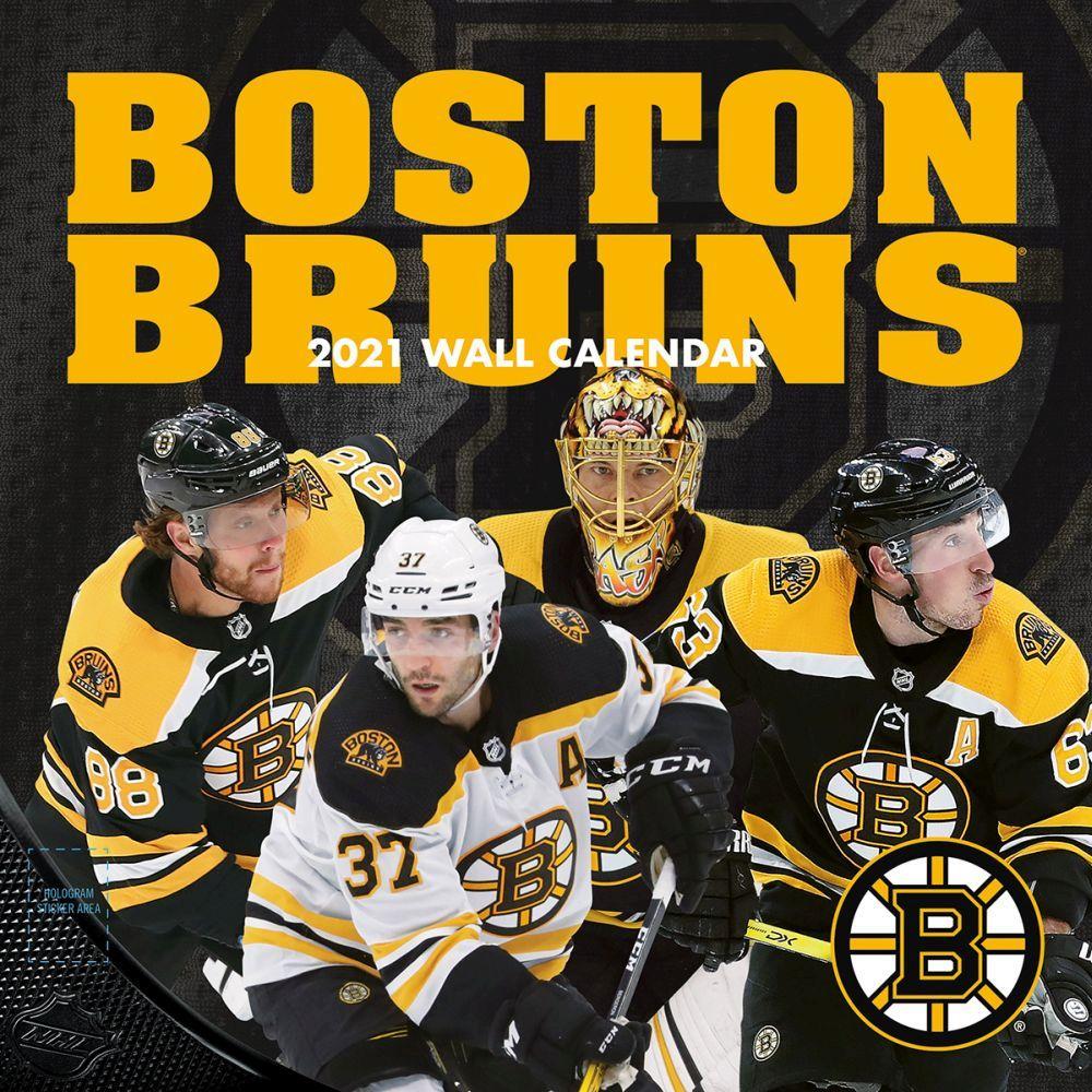 2021 Boston Bruins Mini Wall Calendar