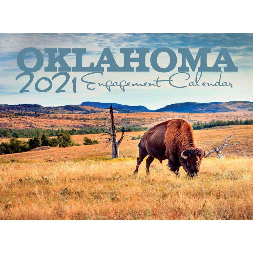 Oklahoma 2021 Wall Calendar