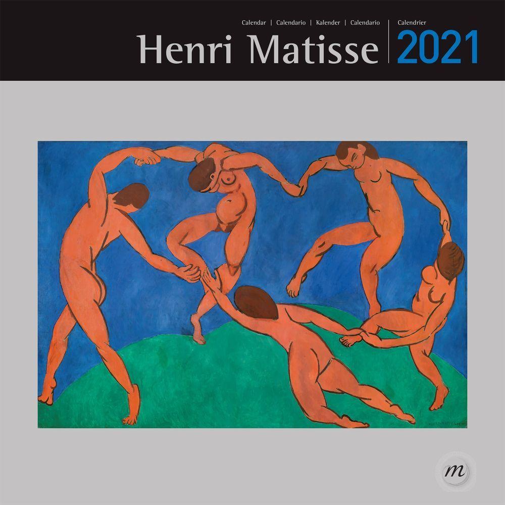 2021 Matisse RMN Wall Calendar