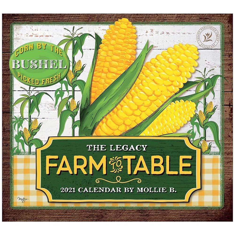 2021 Farm to Table Wall Calendar