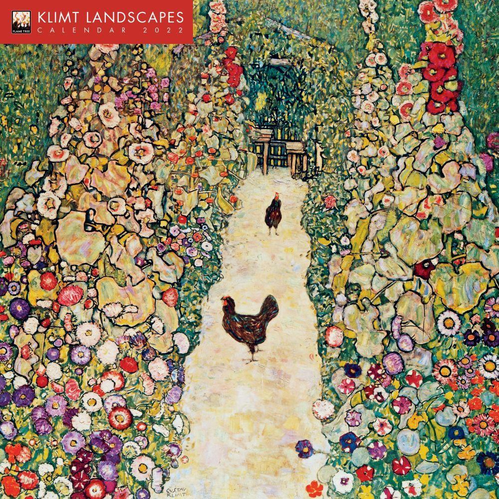Klimt Landscapes 2022 Wall Calendar