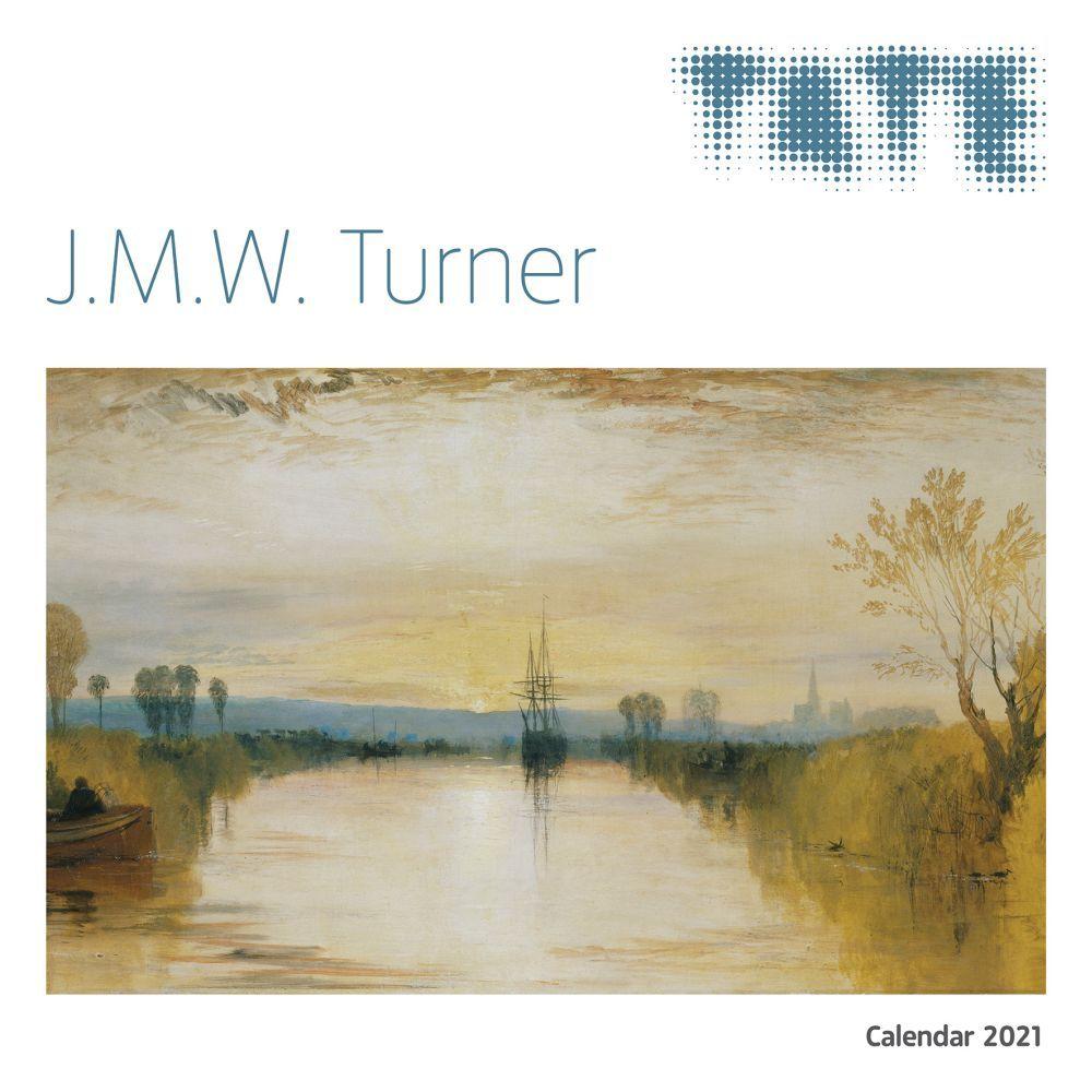 2021 Turners England Tate Wall Calendar