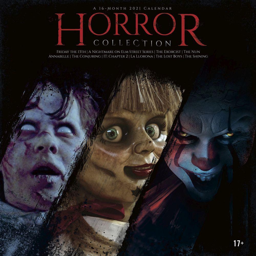 Horror Collection Wall Calendar