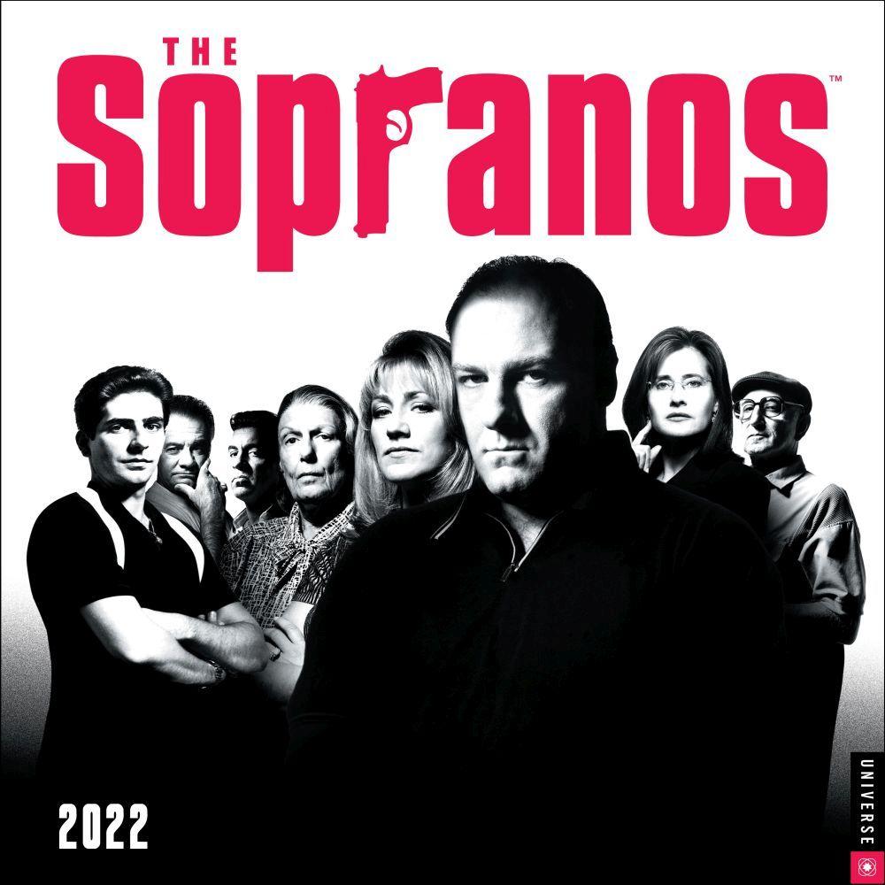 Sopranos 2022 Wall Calendar