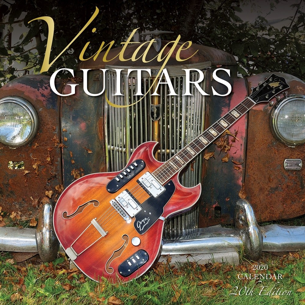 Vintage Guitars 2021 Wall Calendar