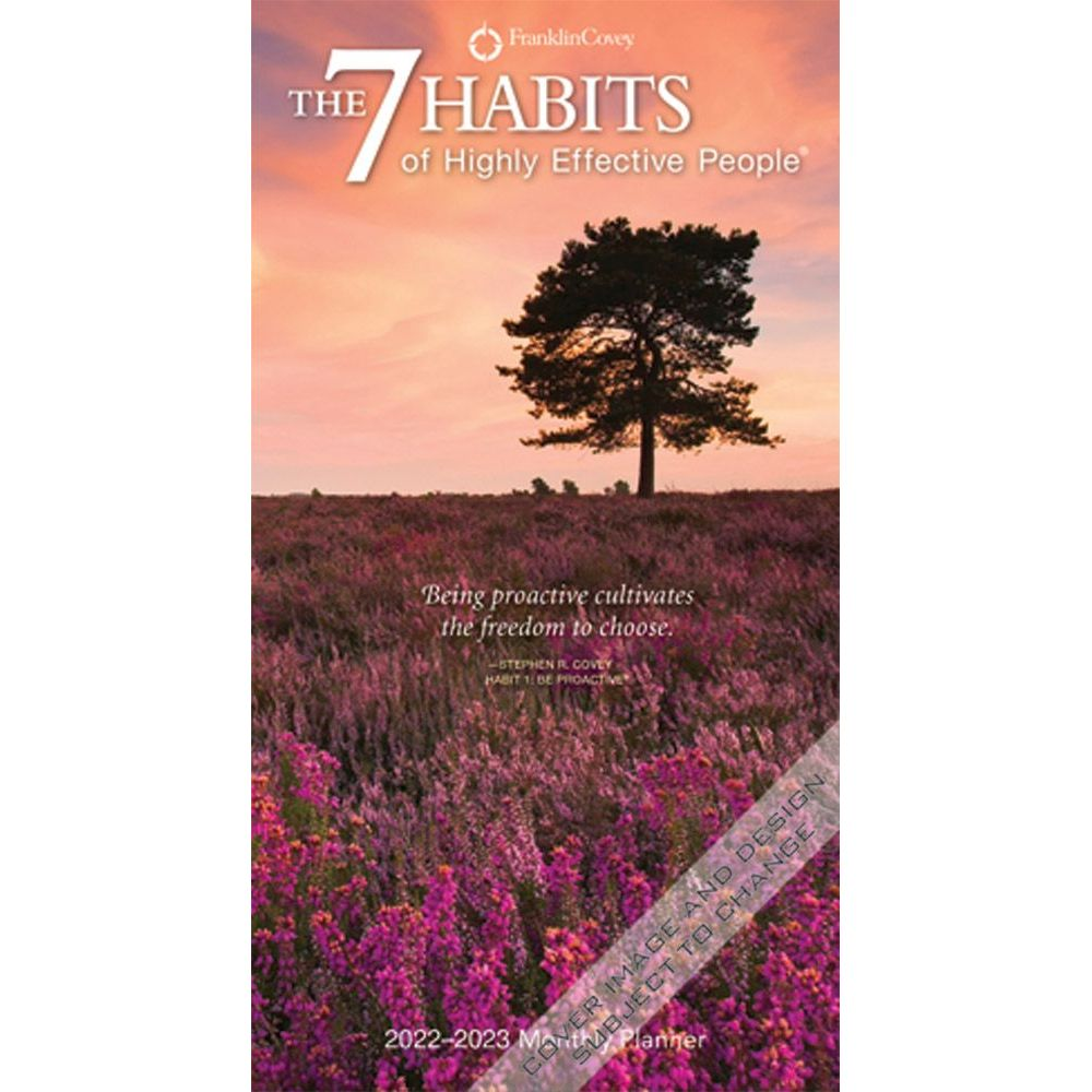 7 Habits of Highly Effective People 2022 Pocket Planner