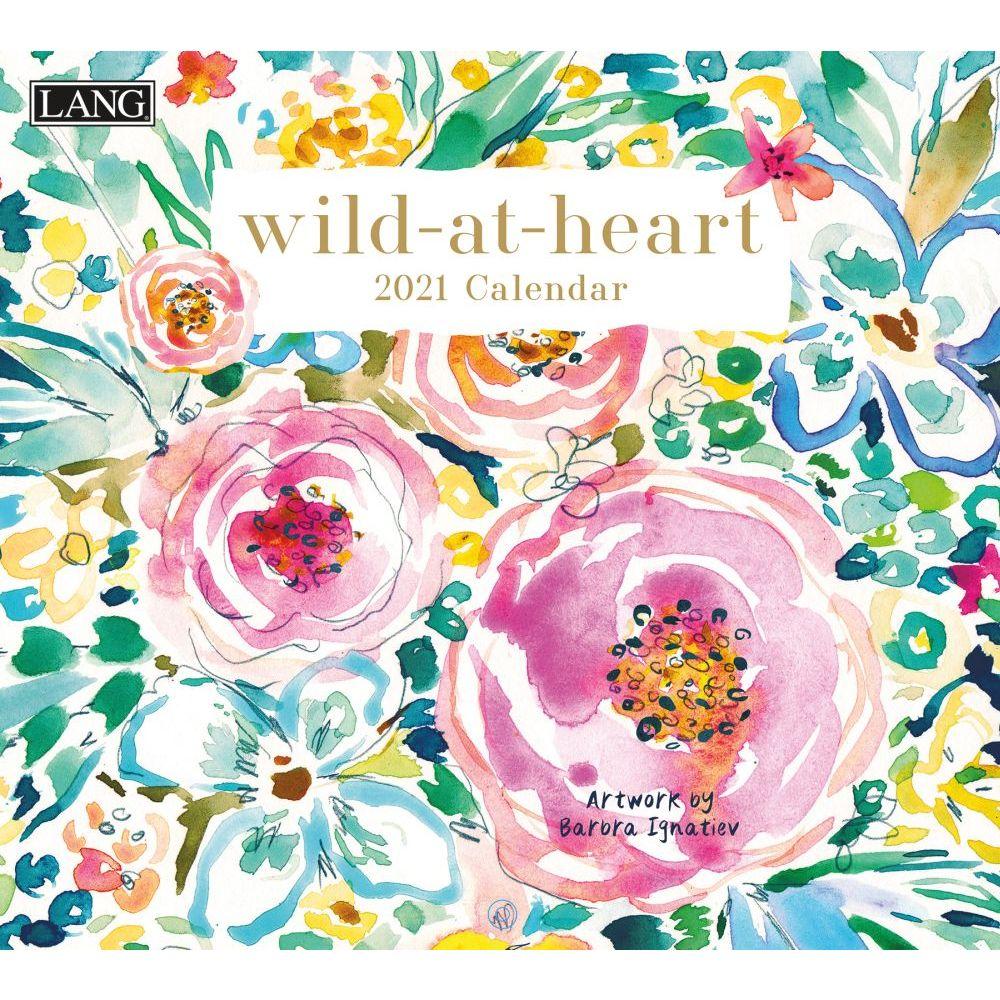 2021 Wild at Heart Wall Calendar by Barbra Ignatiev