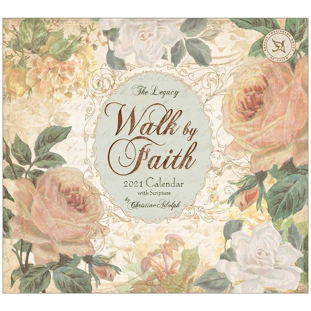 2021 Walk by Faith Mini Wall Calendar