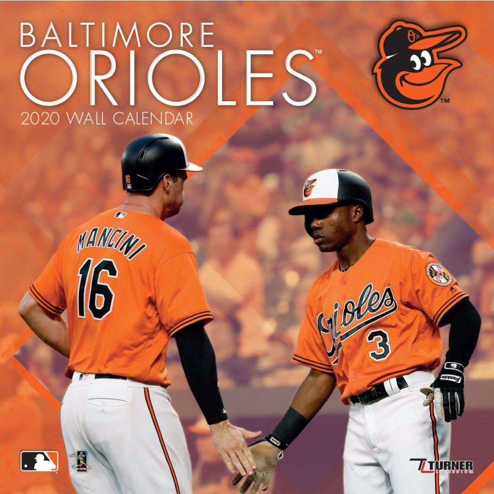 Baltimore Orioles 2021 Wall Calendar