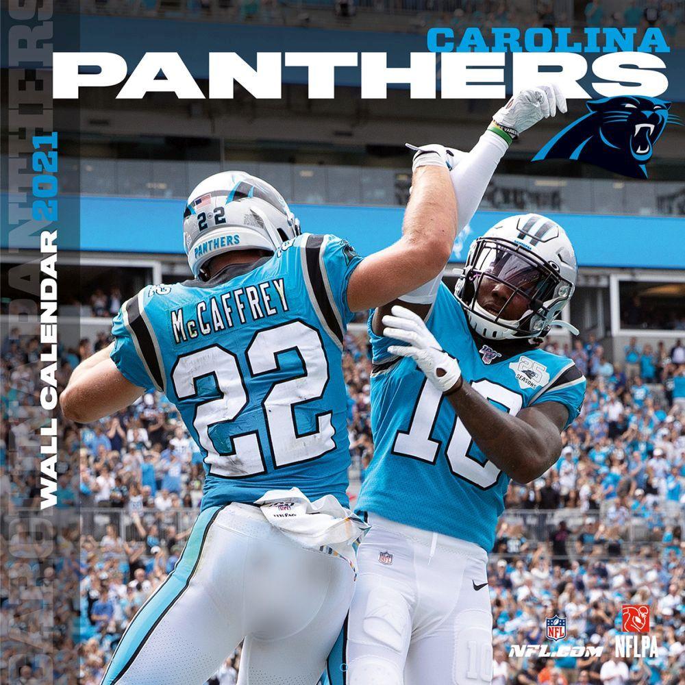 Carolina Panthers 2020 Wall Calendar