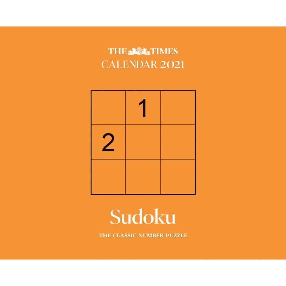 Sudoku 2021 Desk Calendar