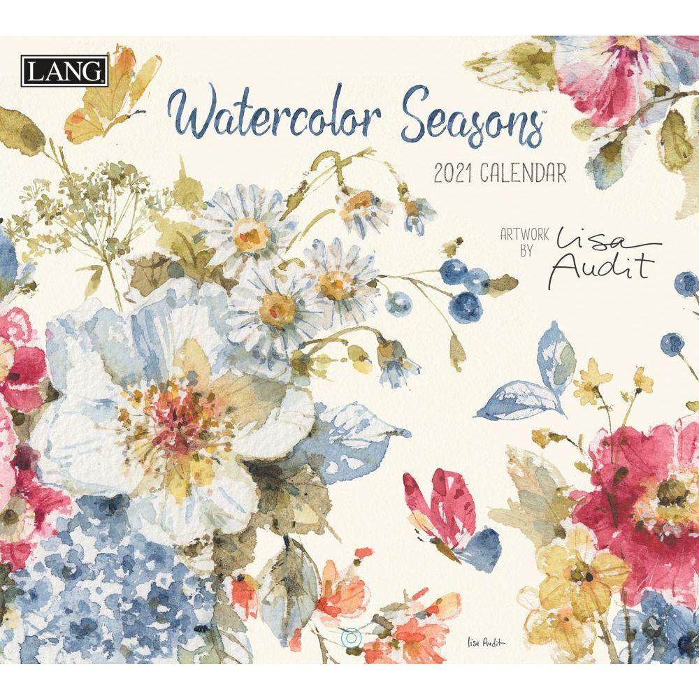 2021 Watercolor Seasons Wall Calendar by Lisa Audit