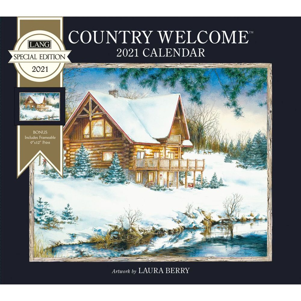 2021 Country Welcome Special Edition Wall Calendar