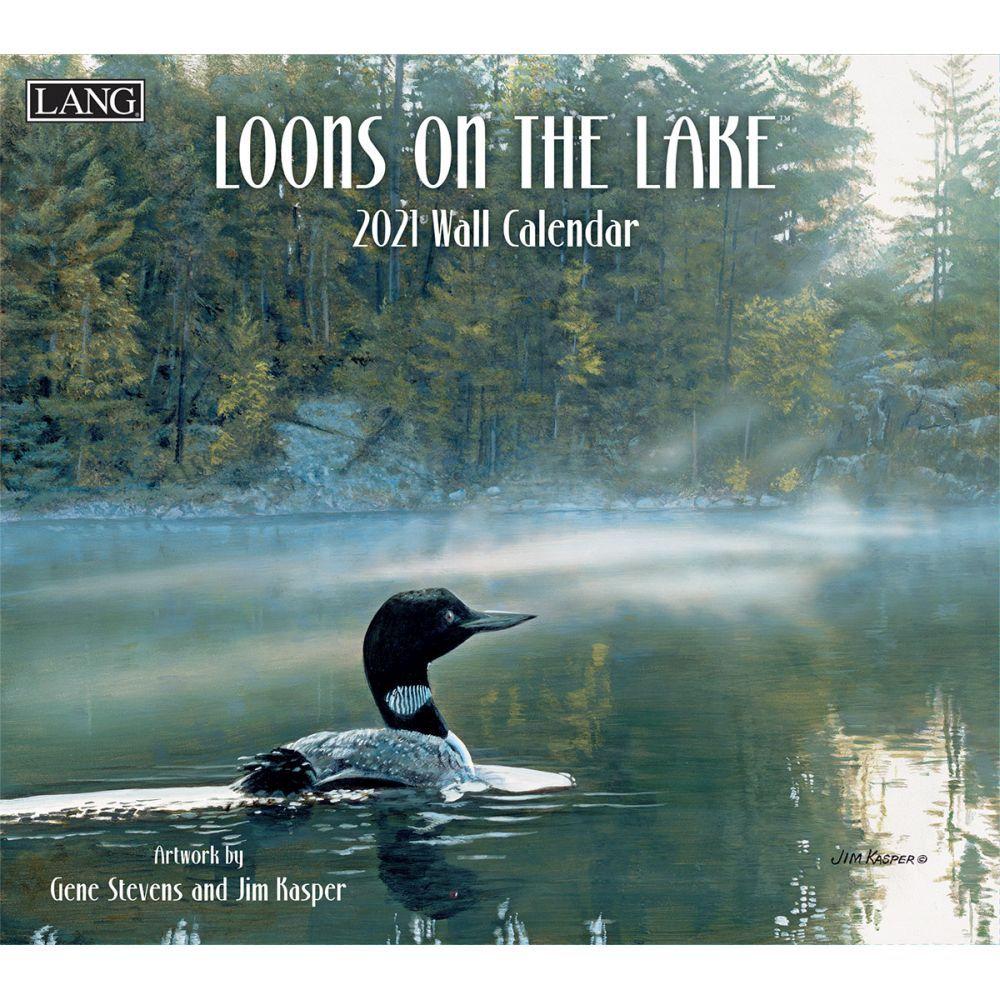 Loons on the Lake 2021 Wall Calendar by Gene Stevens