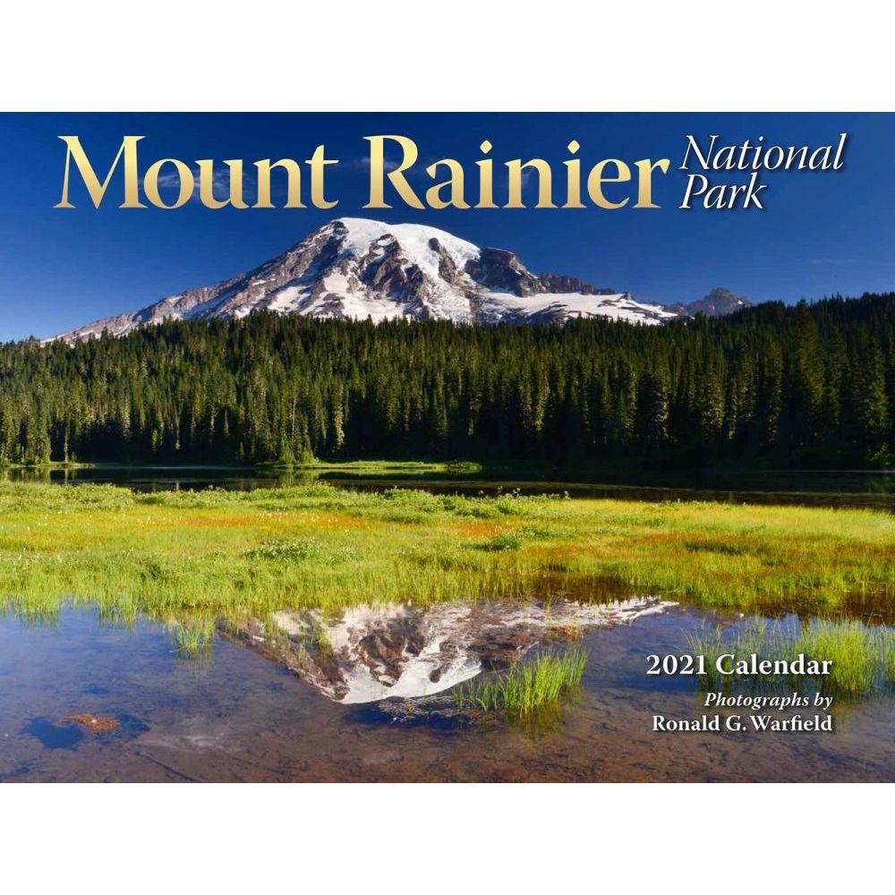 2021 Mount Rainer Wall Calendar
