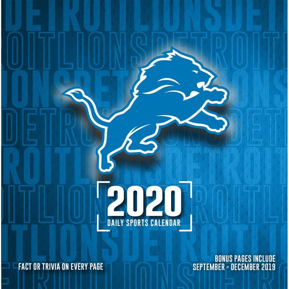Detroit Lions 2021 Desk Calendar