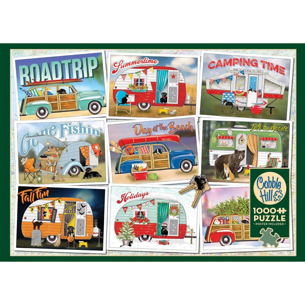 Best Hitting The Road 1000pc Puzzle You Can Buy