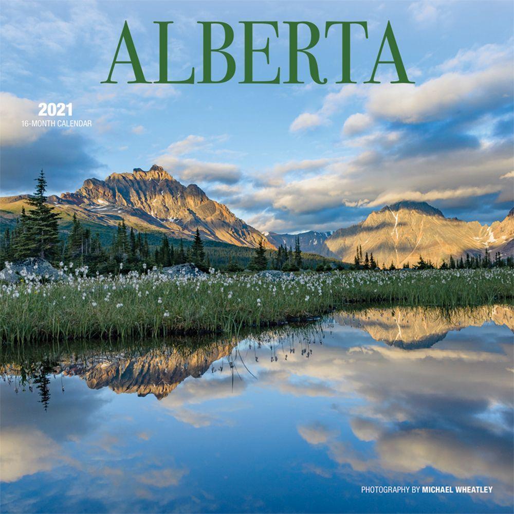 2021 Alberta Wall Calendar