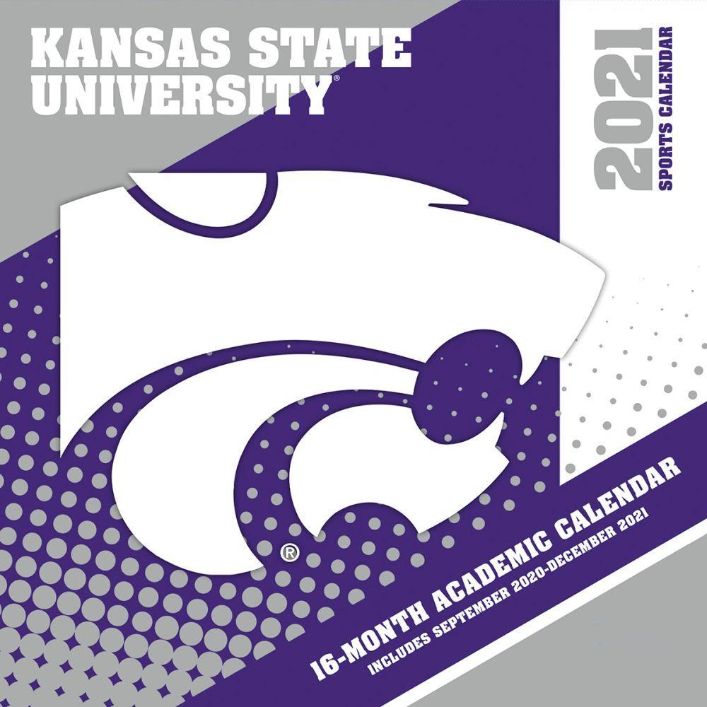 2021 Kansas State Wildcats Wall Calendar