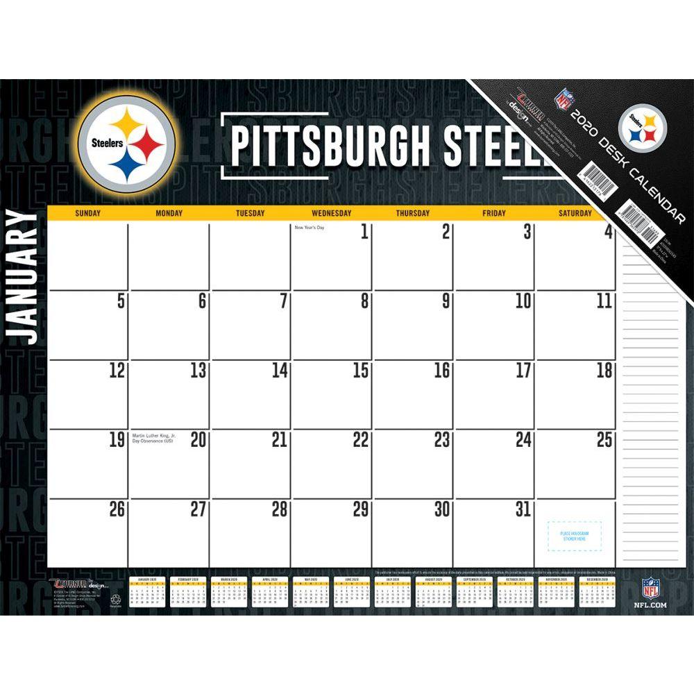 Pittsburgh Steelers 2021 Desk Pad