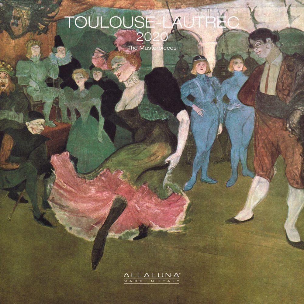 Henri Toulouse Lautrec 2021 Wall Calendar