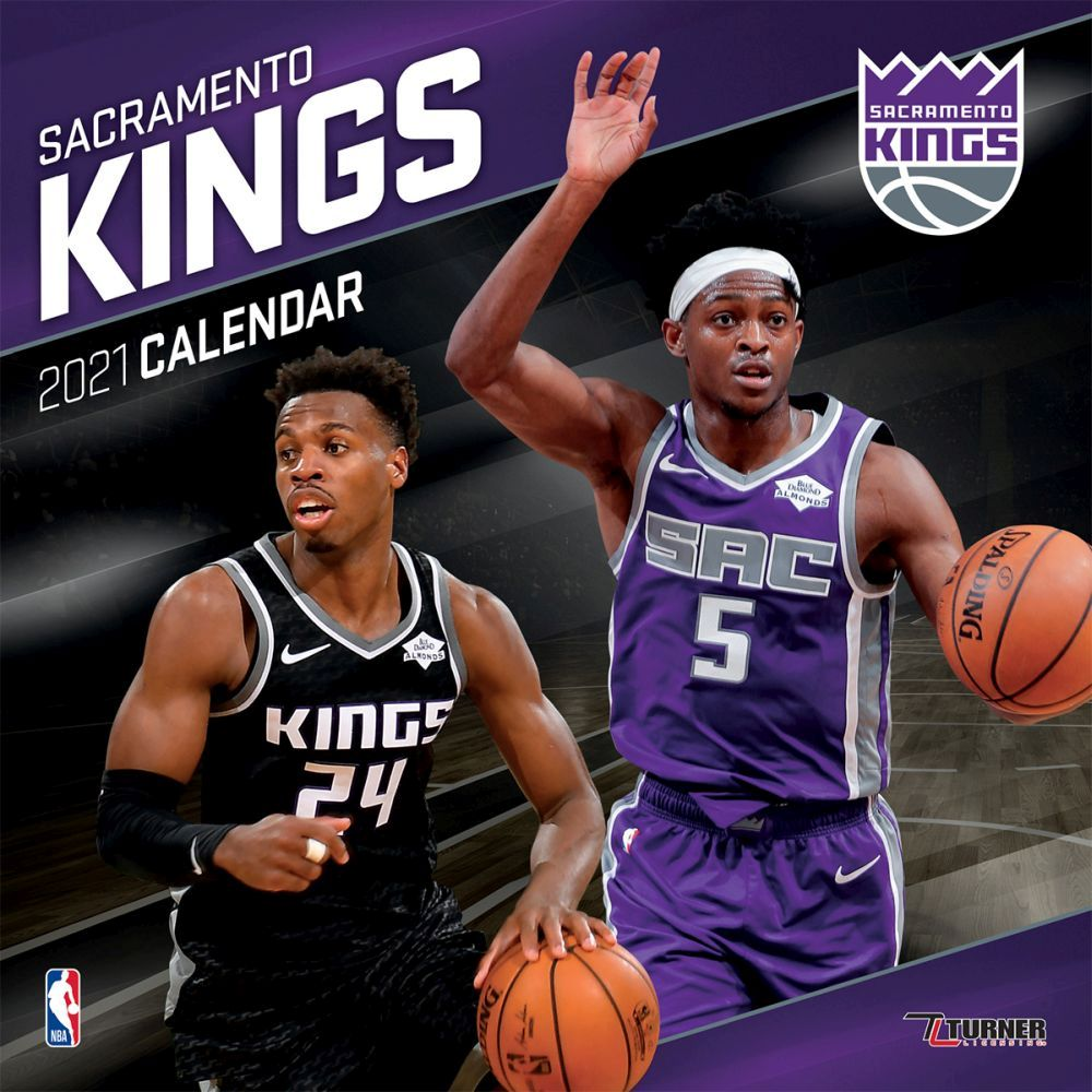 2021 Sacramento Kings Team Wall Calendar