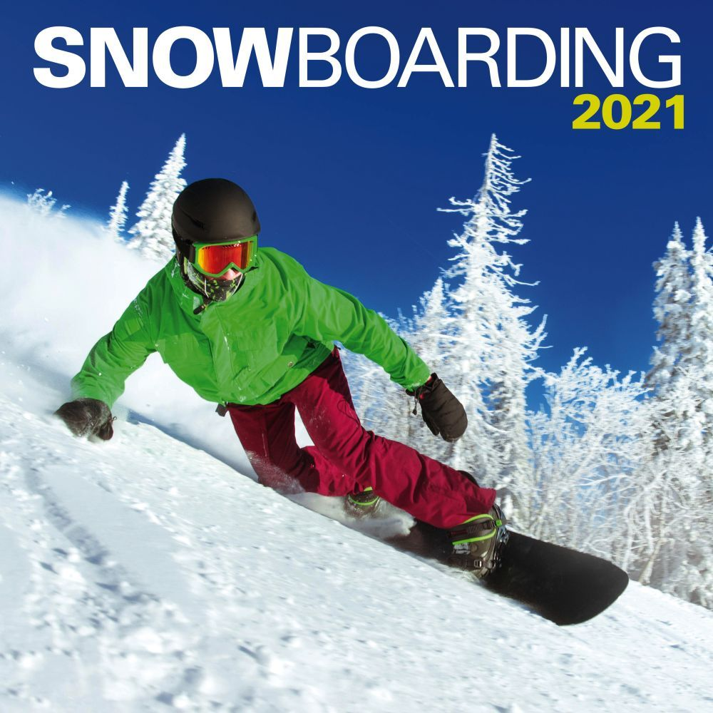 Snowboarding 2021 Wall Calendar