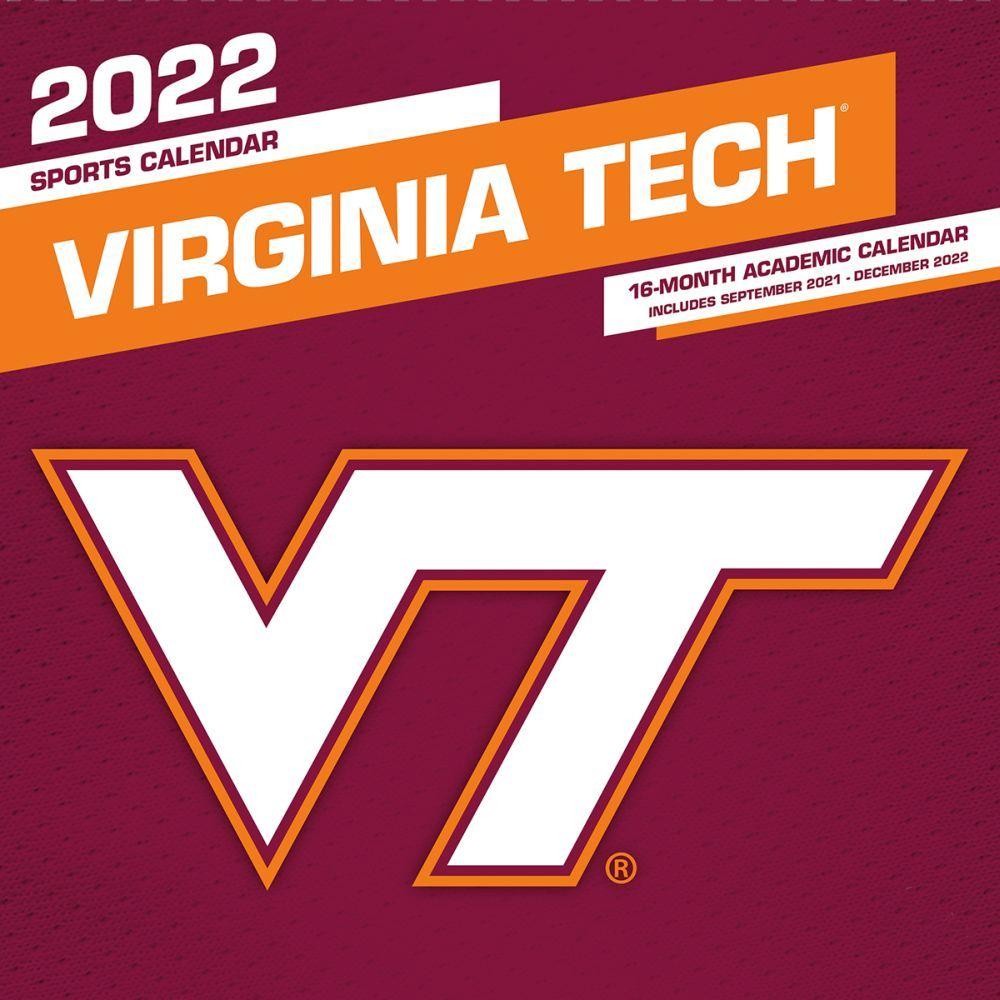 Virginia Tech Hokies 2022 Wall Calendar