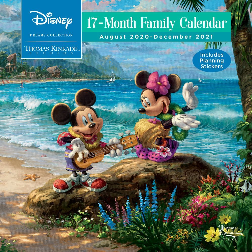 Kinkade Disney 2021 Family Wall Organizer Calendar