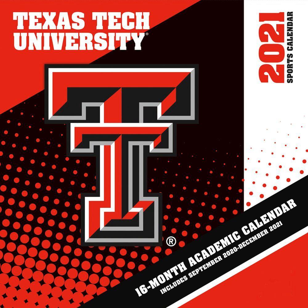 Texas Tech University Red Raiders 2021 Wall Calendar