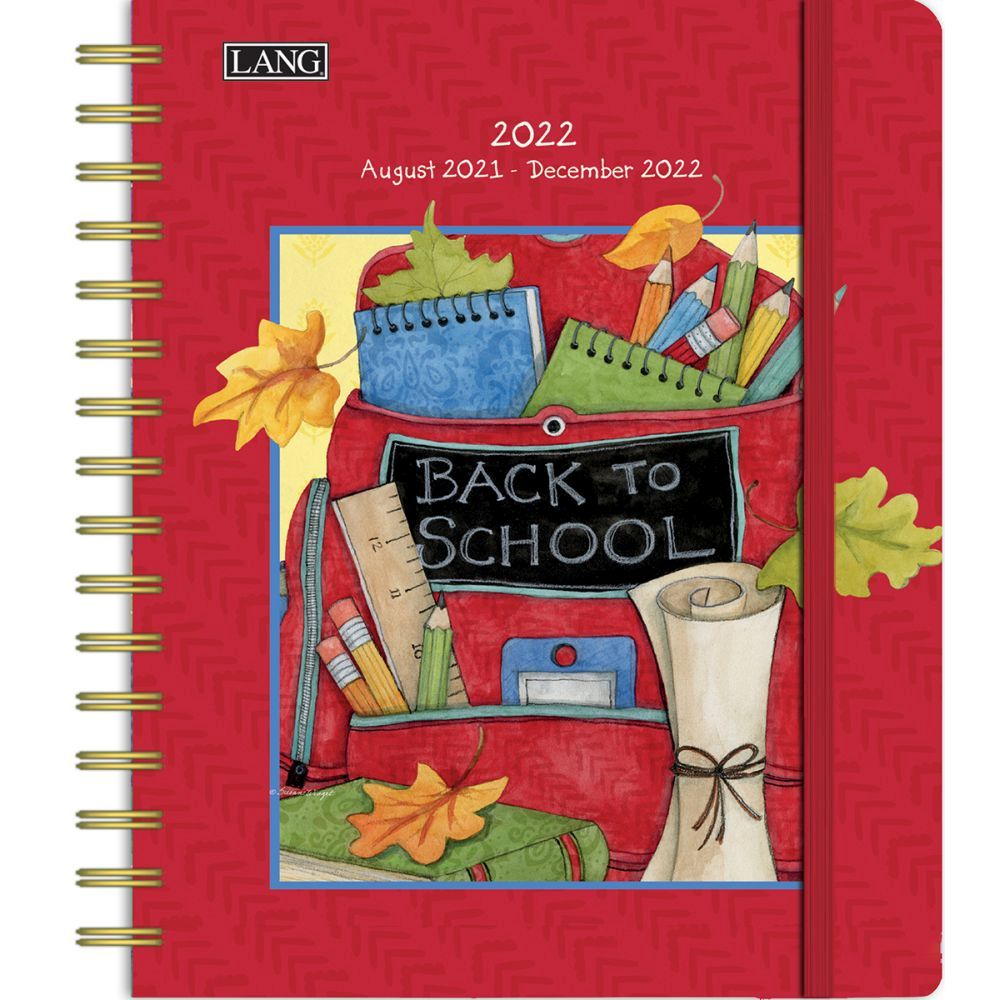 Susan Winget Schoolhouse 2022 Softcover Monthly Planner