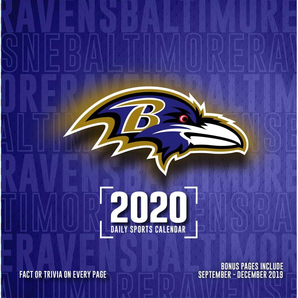 Baltimore Ravens 2021 Desk Calendar
