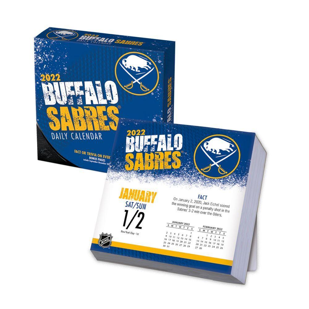 Buffalo Sabres 2022 Desk Calendar