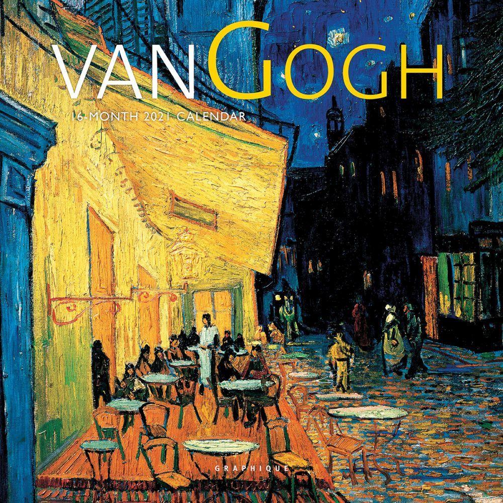 Vincent Van Gogh 2021 Mini Wall Calendar