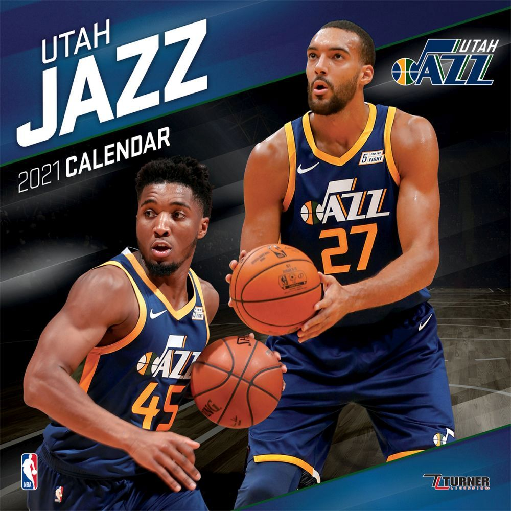 2021 Utah Jazz Team Wall Calendar