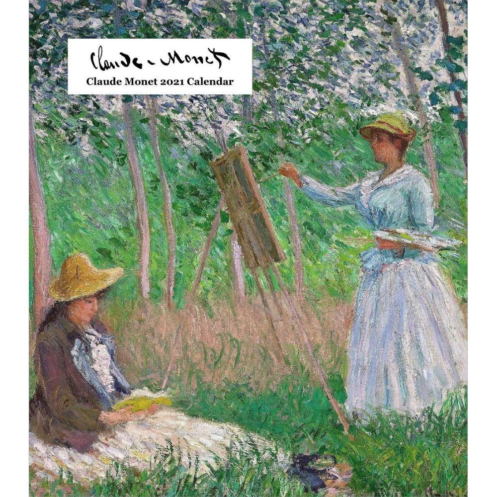 Claude Monet Easel 2021 Calendar