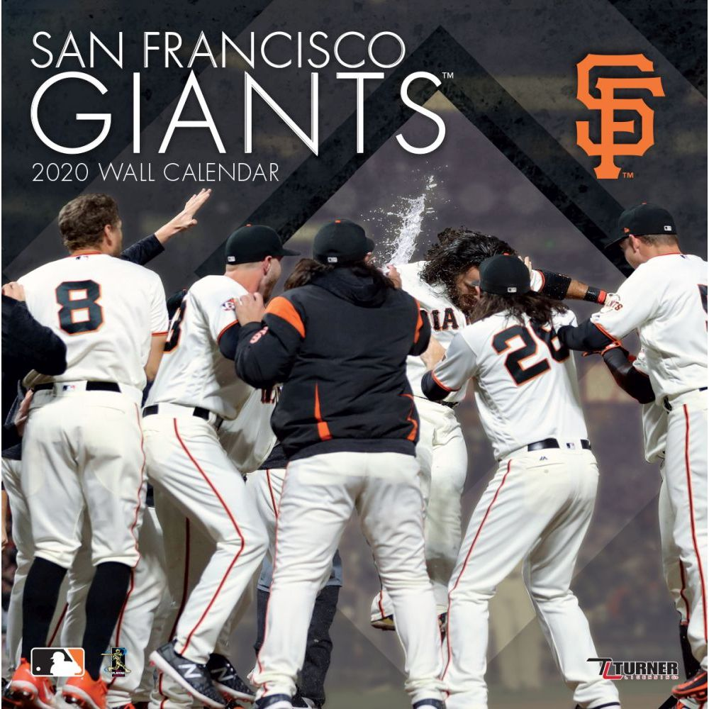 San Francisco Giants 2021 Wall Calendar