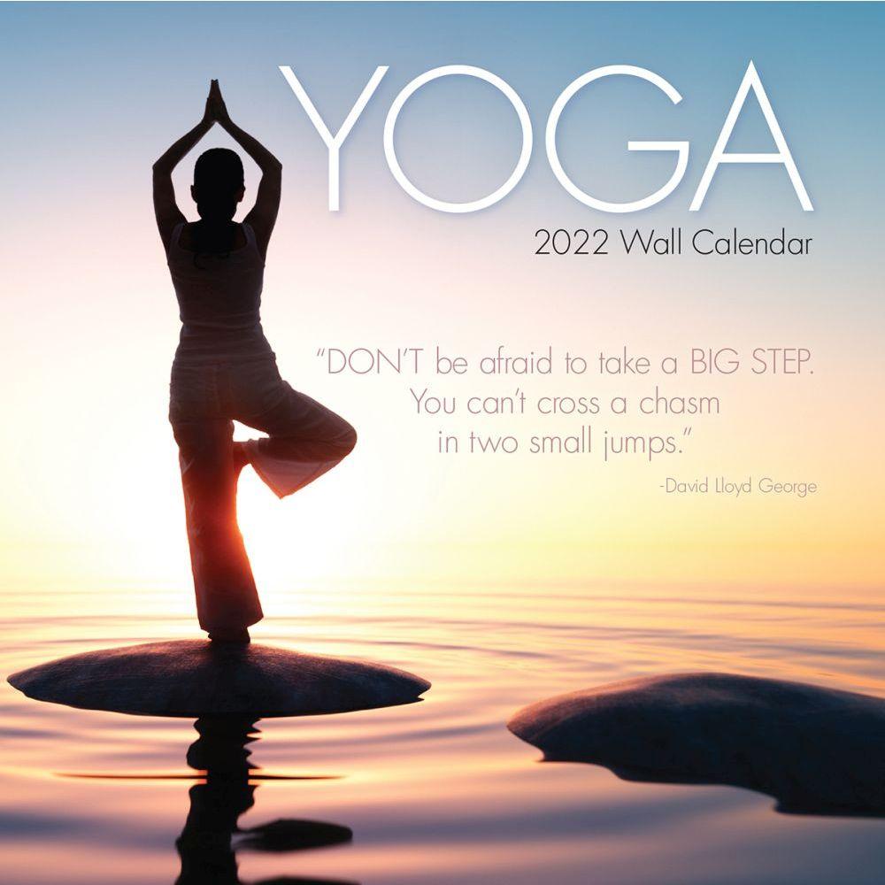 Yoga 2022 Wall Calendar