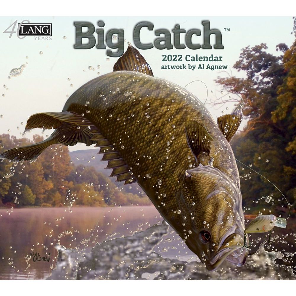 Big Catch 2022 Wall Calendar