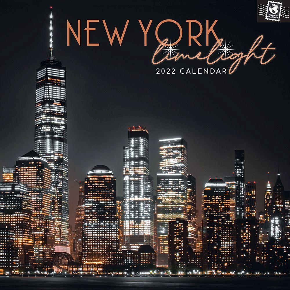 New York 2022 Limelight Wall Calendar
