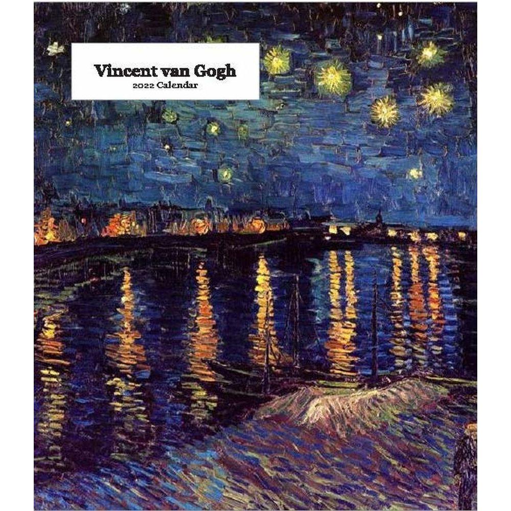 Vincent Van Gogh 2022 Desk Calendar