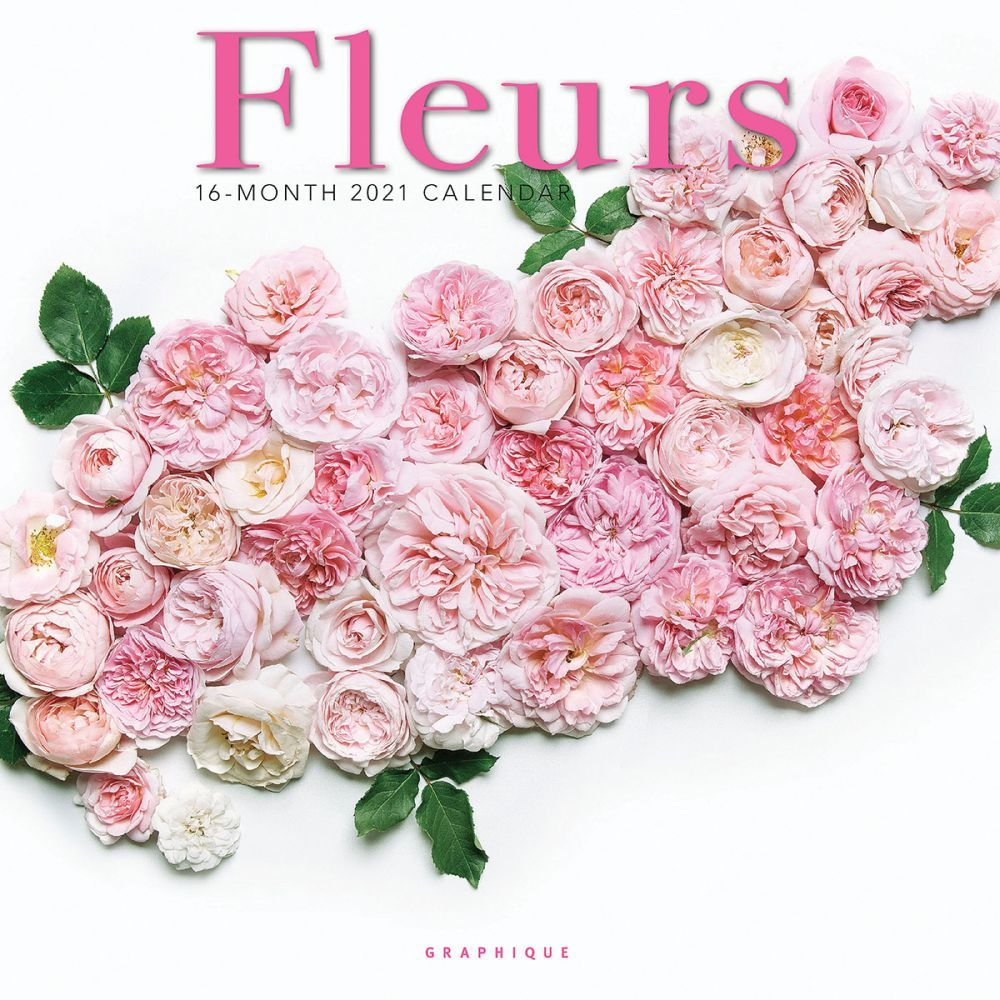 2021 Fleurs Wall Calendar