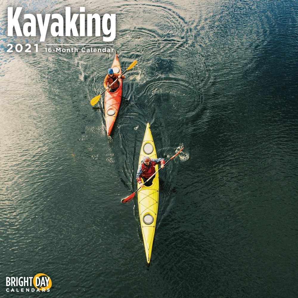 2021 Kayaking Wall Calendar