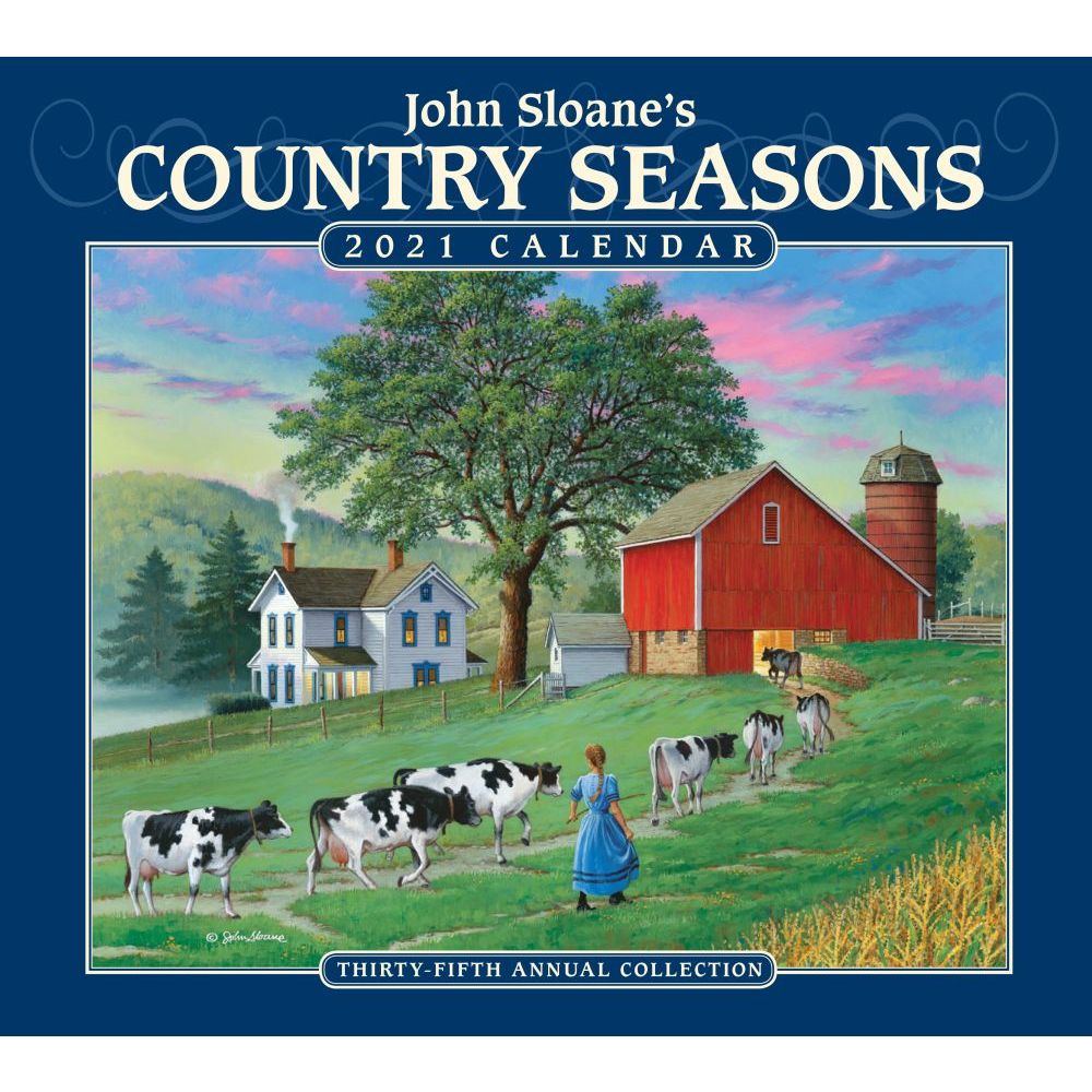 2021 Country Seasons Wall Calendar