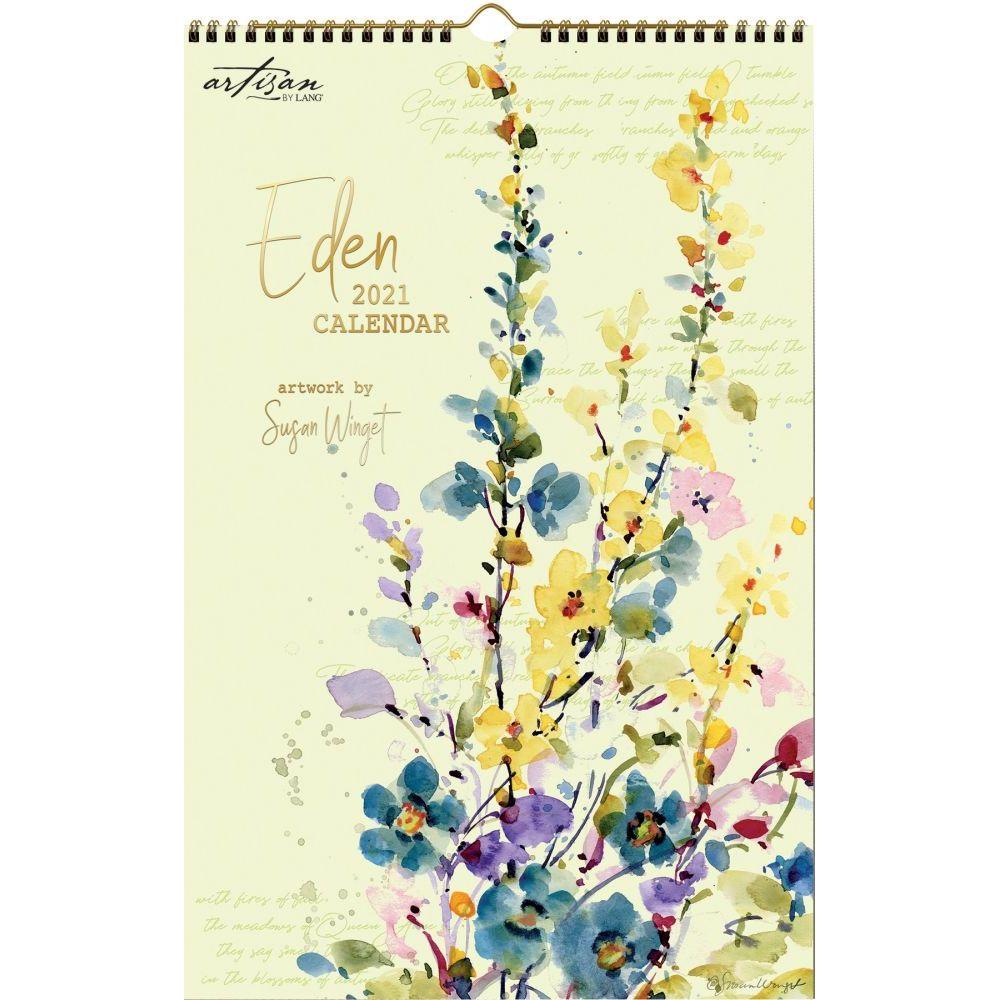 2021 Eden Poster Calendar by Susan Winget