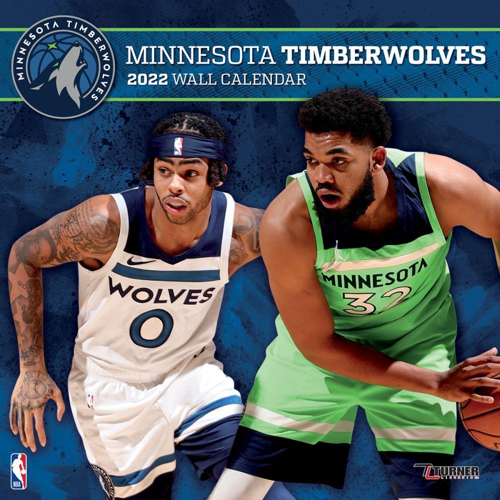 Minnesota Timberwolves 2022 Wall Calendar