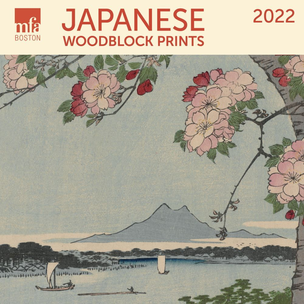 MFA Japanese Woodblocks 2022 Mini Wall Calendar