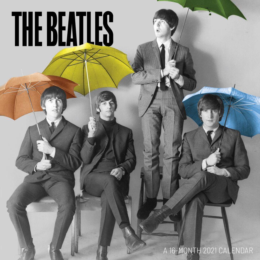 2021 The Beatles Mini Wall Calendar