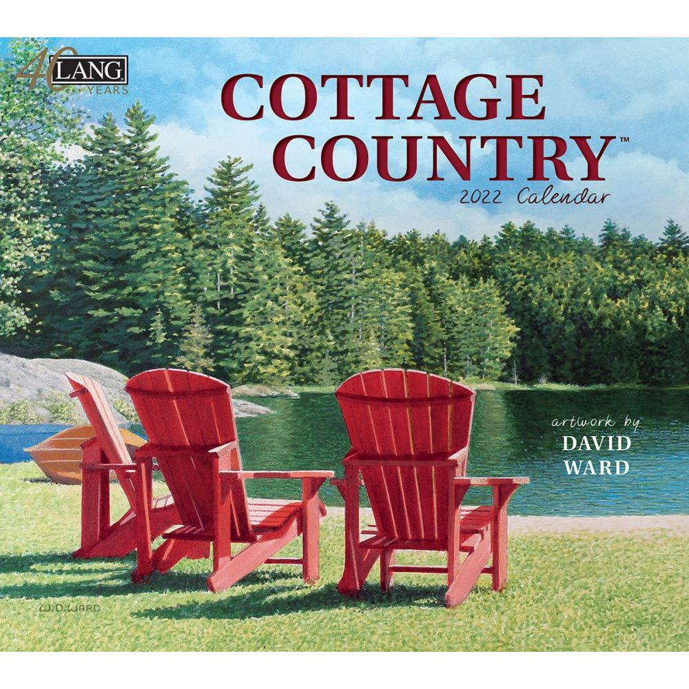 Cottage Country 2022 Wall Calendar