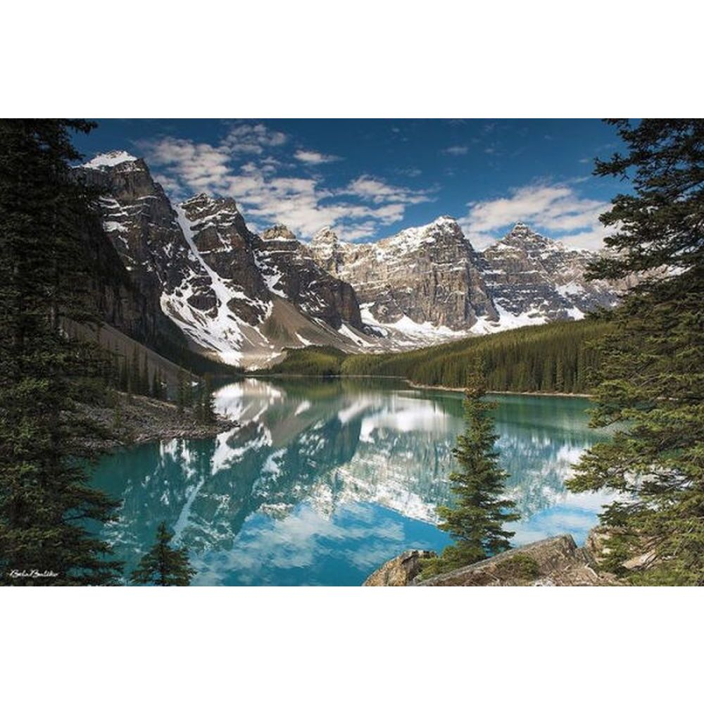 Majestic Parks Moraine Lake 2 1000pc Puzzle-2